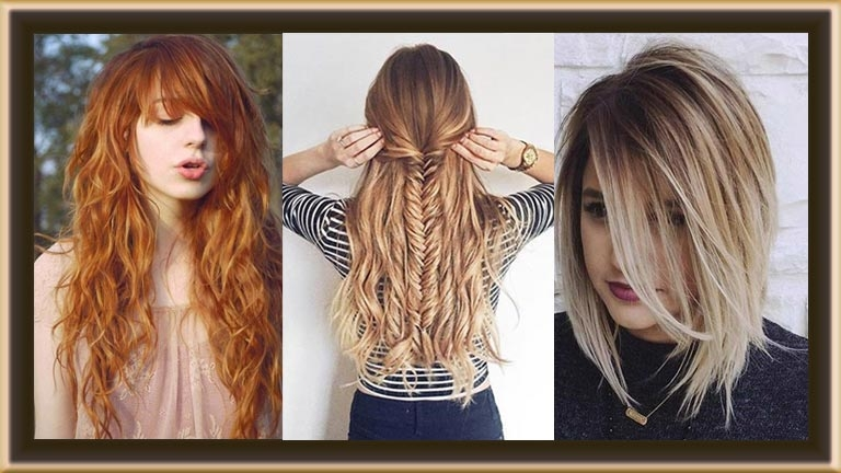 Top 50 Beautiful Hairstyles for Women and Teens in 2017
