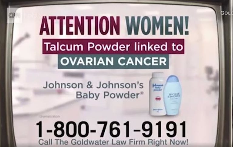 $4.69 billion verdict against Johnson & Johnson's talcum powder